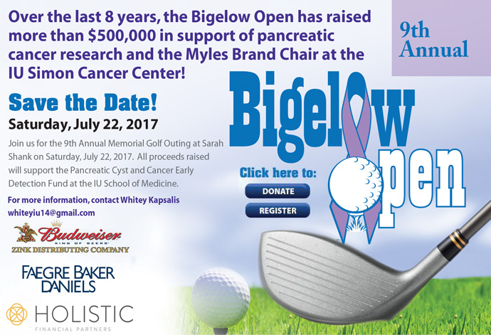 Bigelow Open - Save the Date